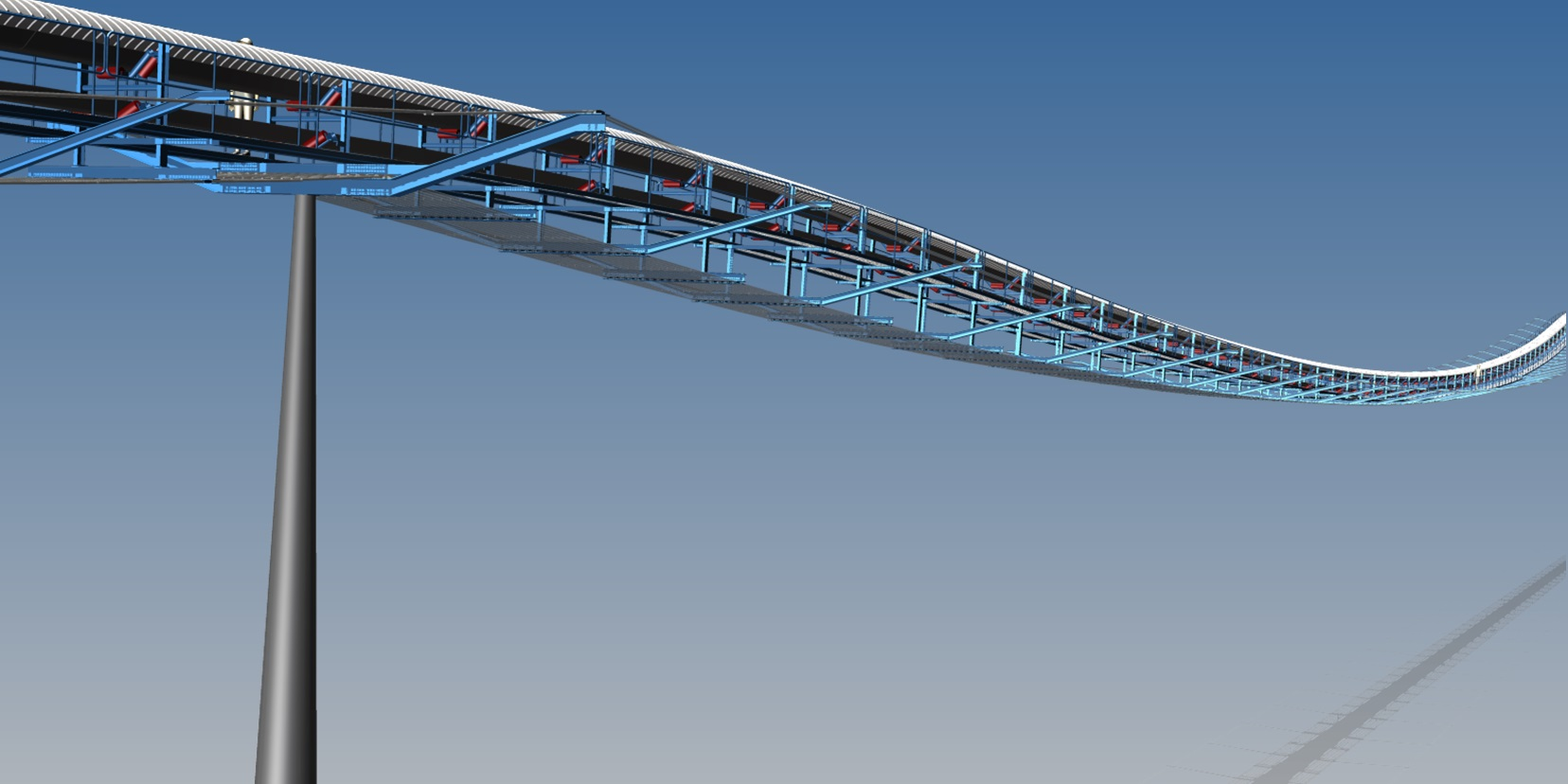 Elevated Bridge Conveyor